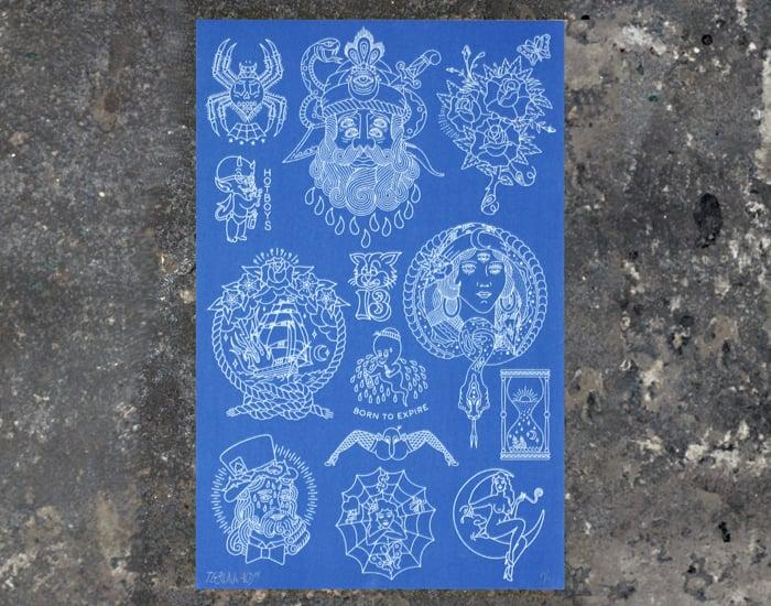 Image of Blueprint Flash Sheet