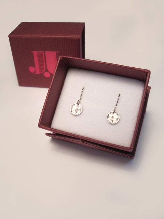 Image of DOT EARRING: WATTLE (STAINLESS STEEL)