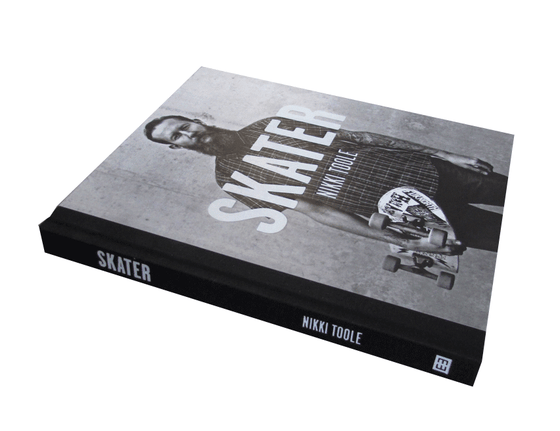 Image of SKATER Book by Nikki Toole / Signed / 2 signed postcards / Shipping $15