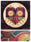 Image of 'Majora's Mask' Textured Art Paper Edition!