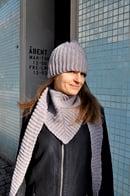Image of I vinkel - hue og tørklæde