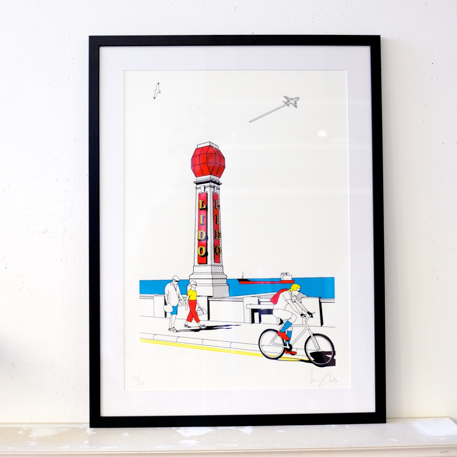 Image of Lido Screen print *last one*