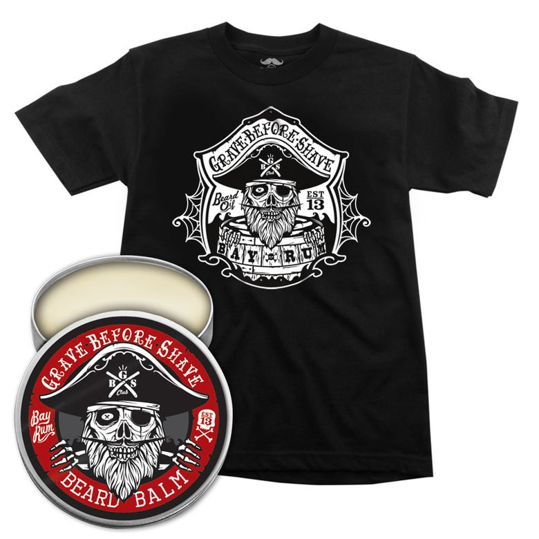 Image of GBS Bay Rum Shirt and Balm Combo