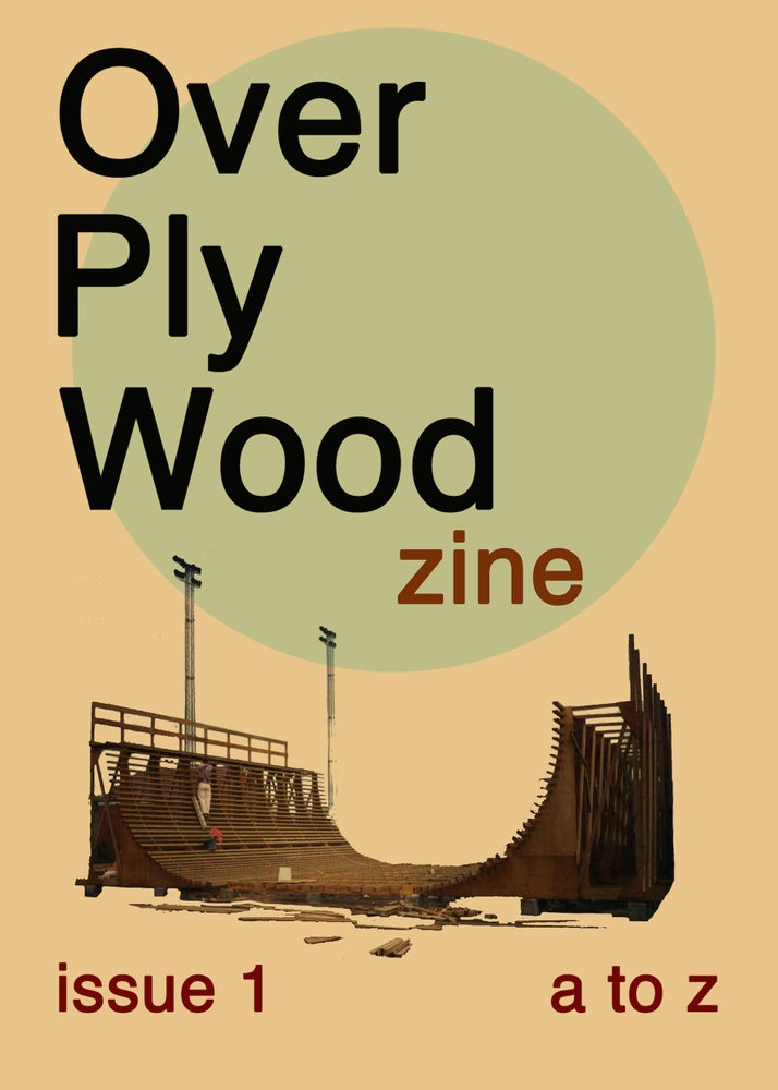 Image of Over Ply Wood x Ratbite zine