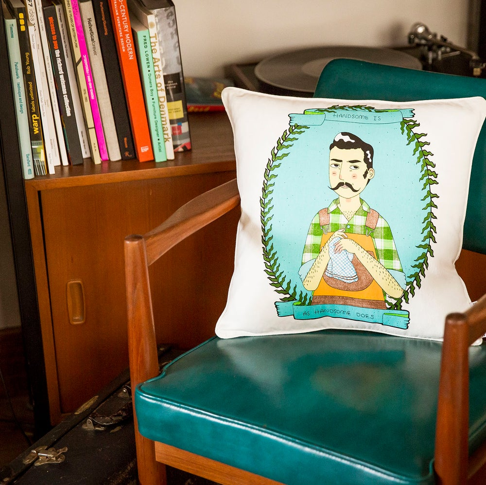 Image of Handsome Jack Cushion Cover