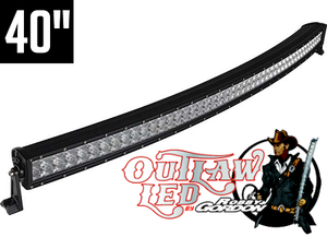 Image of Robby Gordon Signature Curved Double Row Light Bar 40""