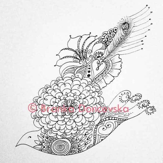 Image of Blossom Flower Bird