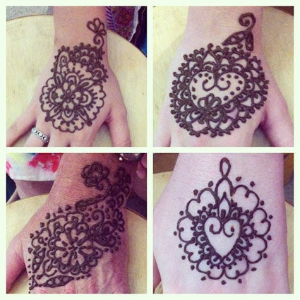 Image of Henna body art