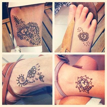 Image of Henna body art