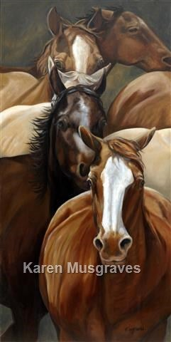 "Image of ""Last Stretch"" Canvas Gicleé"