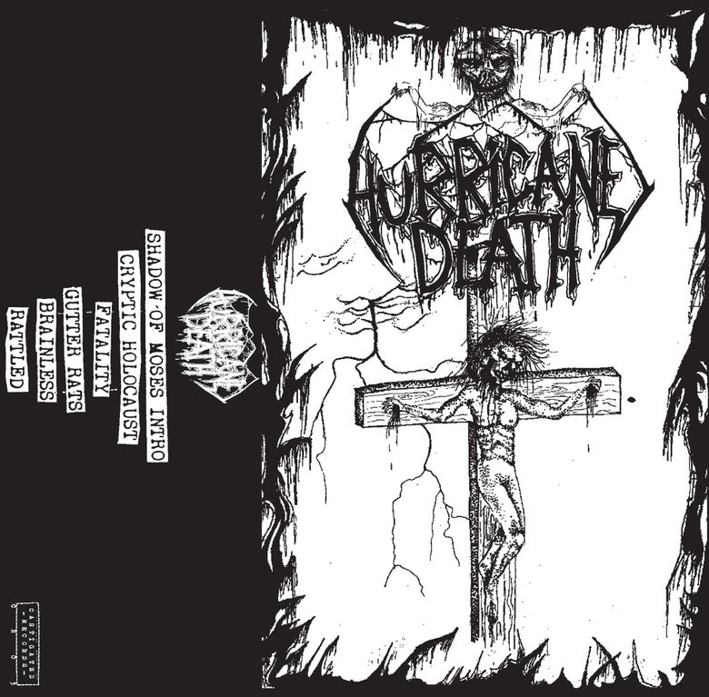 Image of HURRICANE DEATH - 'S/T DEMO 2015' CASSETTE (CASTIGATED 03)