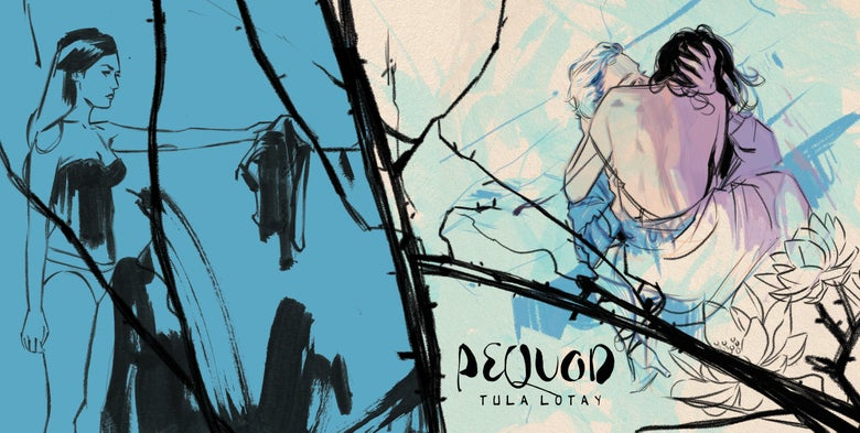 Image of PEQUOD. LIMITED EDITION ART BOOK by TULA LOTAY