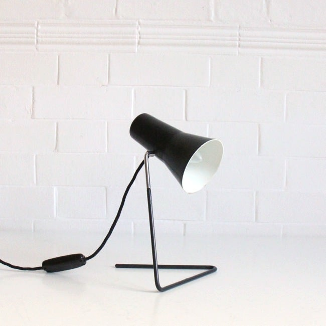 Image of Black mid-century light