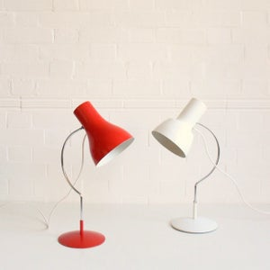 Image of Red mid-century light