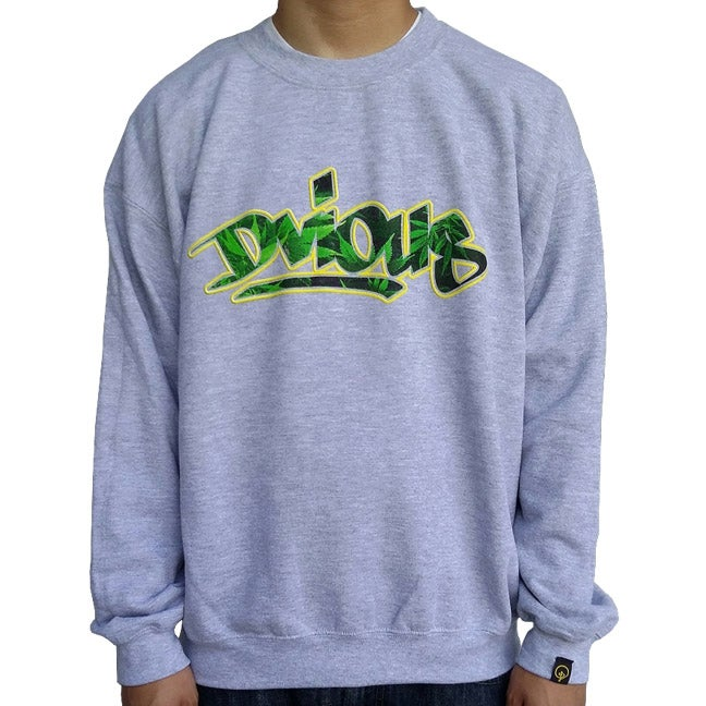 Image of WEEDVIOUS CREWNECK SWEATER
