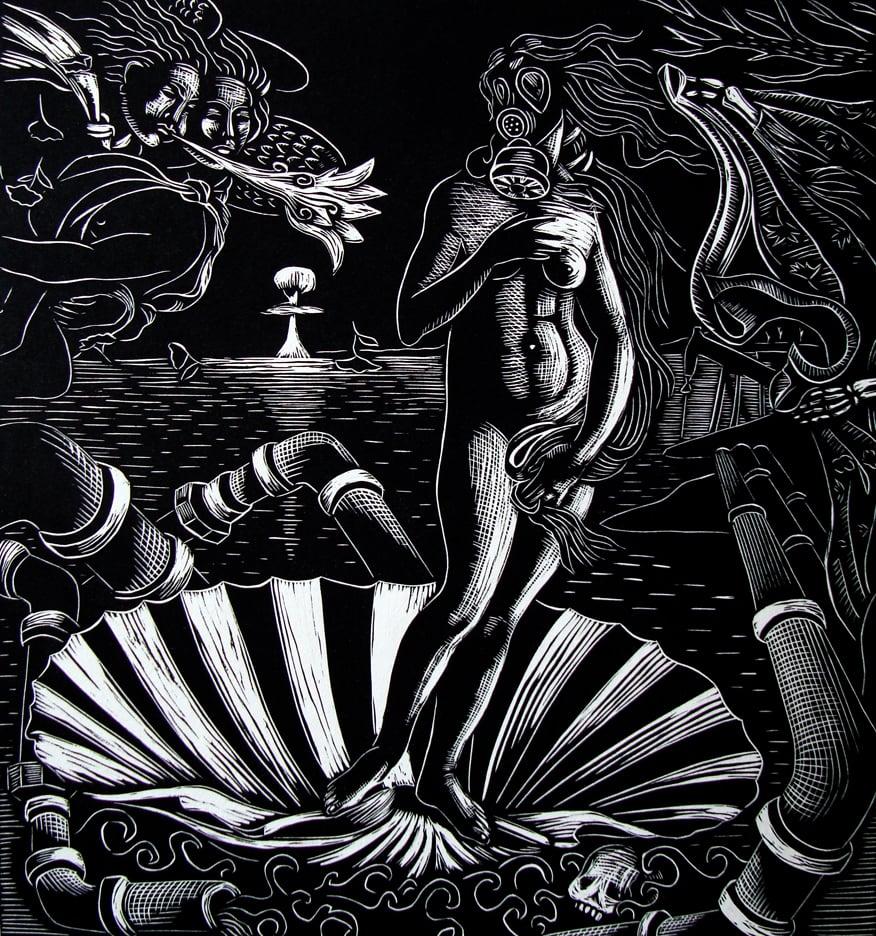 """Image of """"Venus 2.0"""" after Botticelli"""