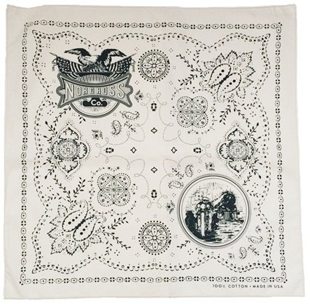 Image of Norcross Co. 100% Cotton Bandana - Natural