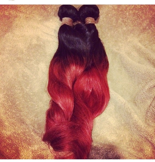 Image of Colored Virgin Hair