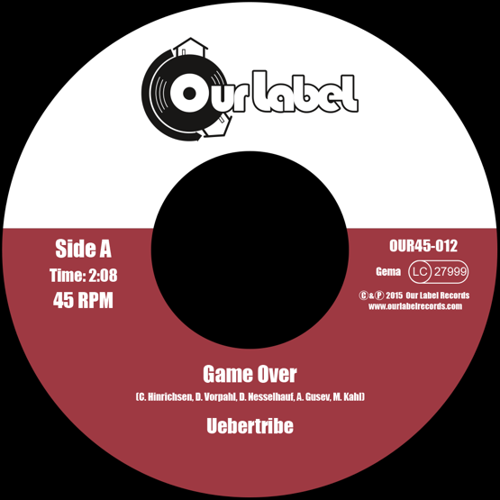 Image of SOLD OUT!!! Uebertribe - Game Over / The Thief