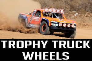 Image of Robby Gordon Race Beadlock Trophy Truck Wheels