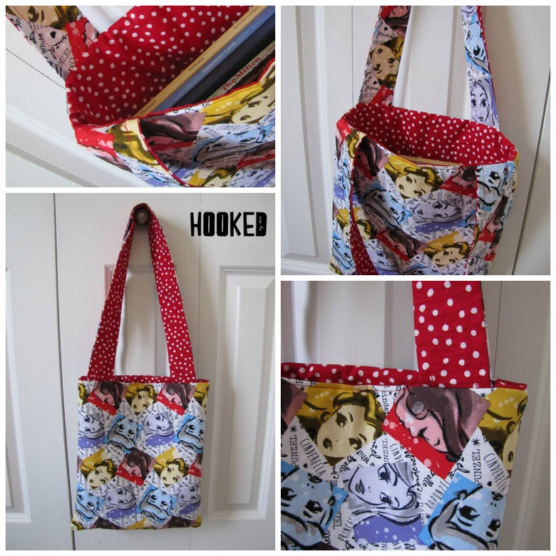 Image of Princess Library Tote Bag