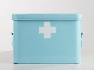 Image of Metal medicine box