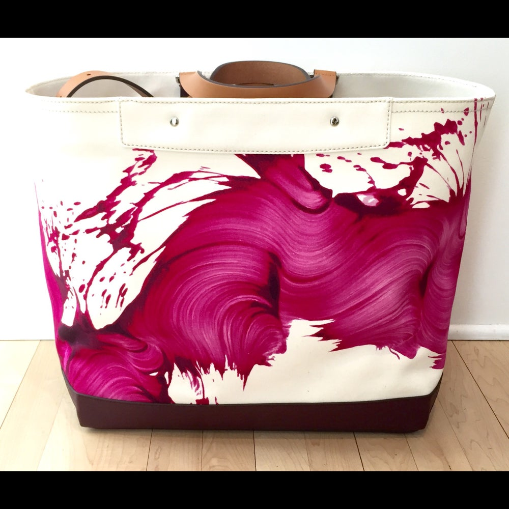 Image of Limited Edition Coach X James Nares Tote