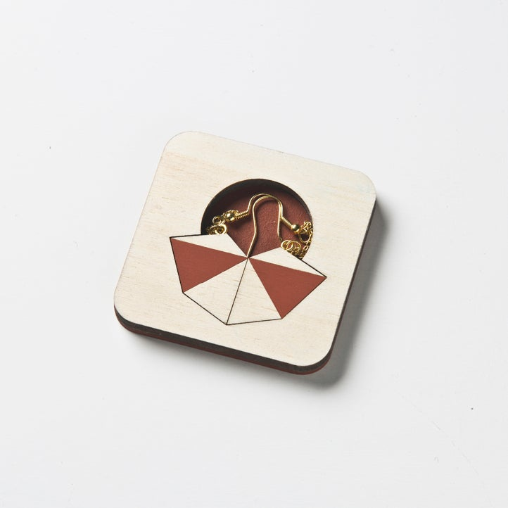 Image of facets earrings 003