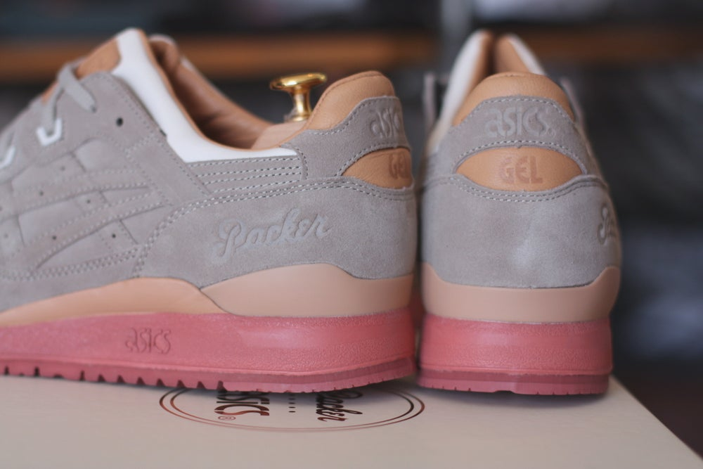 """Image of ASICS GEL LYTE 3 X PACKERS SHOES """"DIRTY BUCK"""" SPECIAL EDITION"""