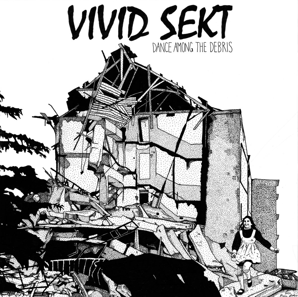Image of Vivid Sekt - Dance Among The Debris 12""