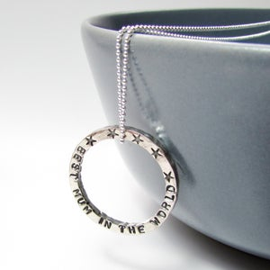 Image of Personalised Mummy Necklace