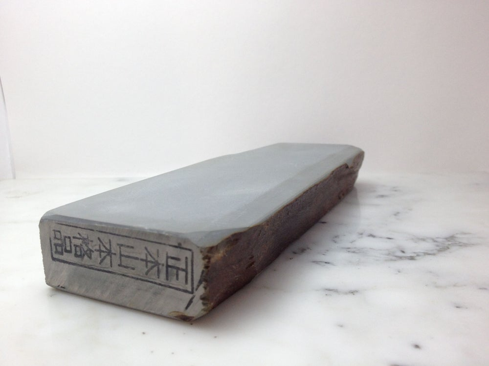 Image of Japanese Natural Whetstone Hone Sharpening Stone