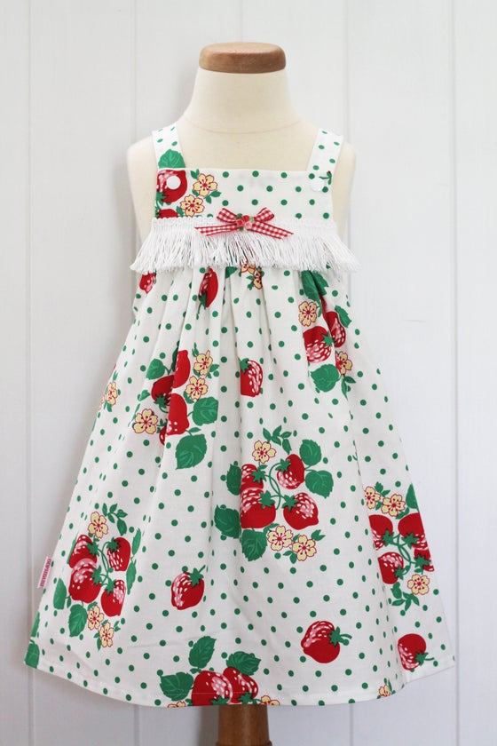 Image of Strawberry Kisses Pinny
