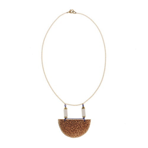 Image of HALF MOON necklace