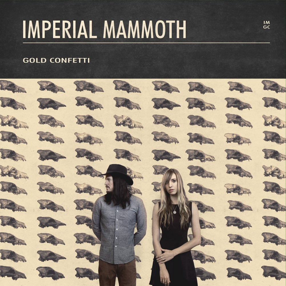 Image of PREORDER Imperial Mammoth - Gold Confetti - Vinyl