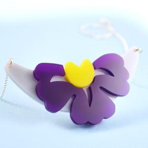 Image of Garden Flower necklace