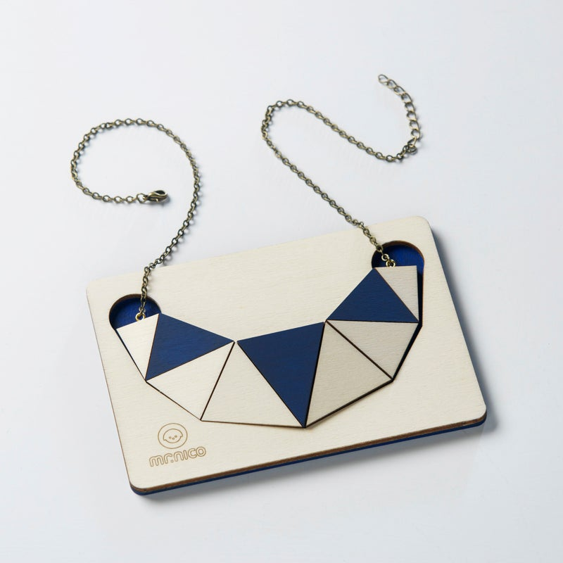 Image of facets necklace 006