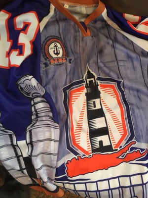 """Image of """"The Barn"""" Limited Edition Nassau Coliseum Tribute Hockey Jersey"""