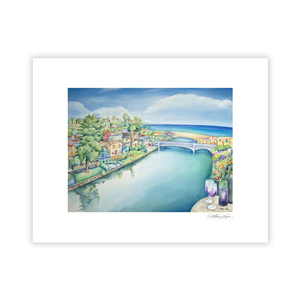 Image of Capitola Art and Wine Festival 2015, Archival Paper Print