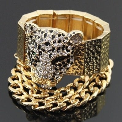 Image of Leopard In Chains bracelet