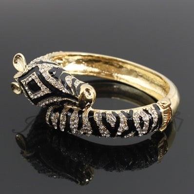 Image of Go Bold Zebra bangle