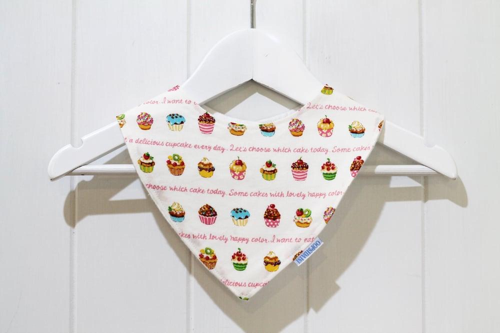Image of Kawaii Cupcakes - Bandana Bib