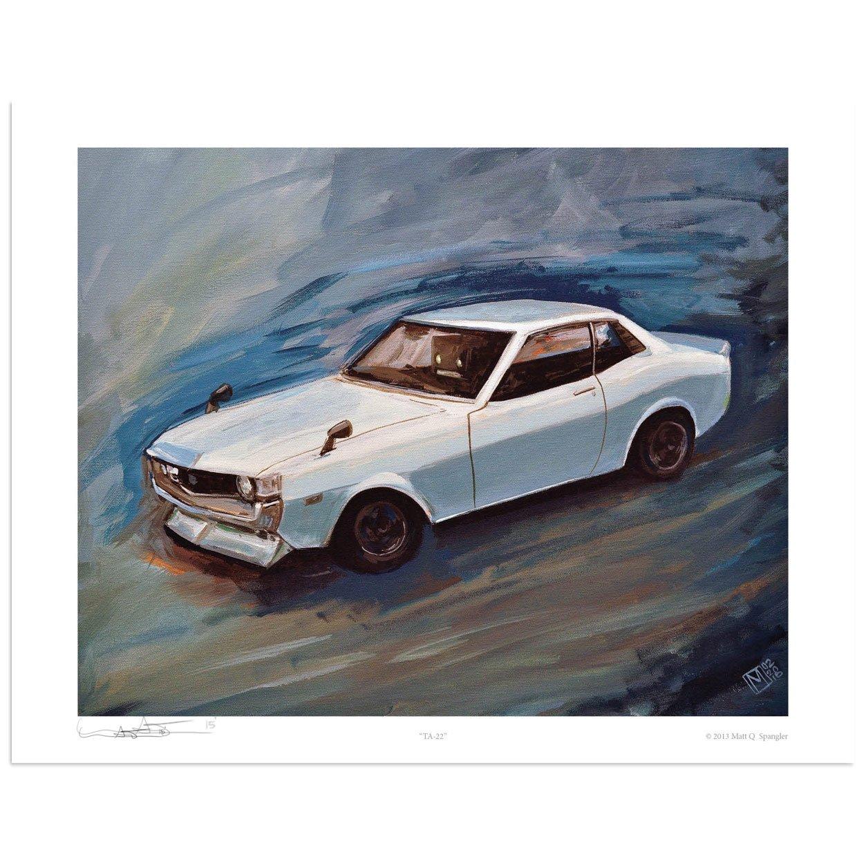 Image of TA22 Toyota Celica Print