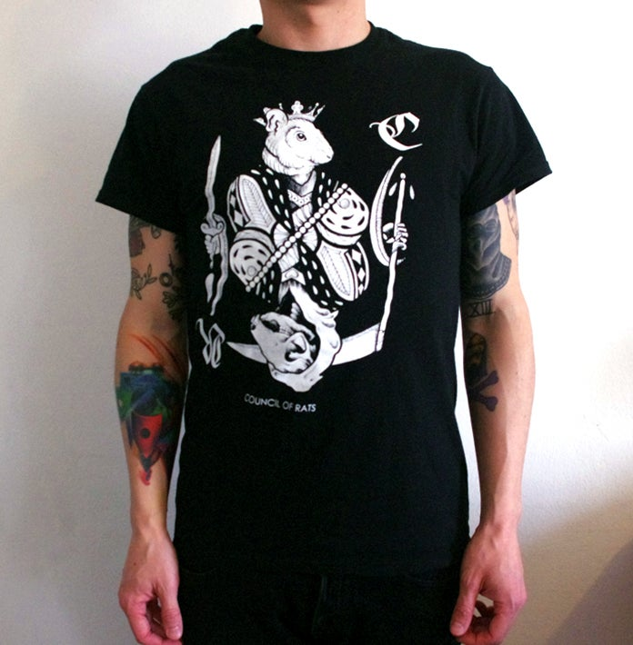 Image of Rat king T-shirt