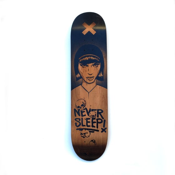 Image of Laser Engraved Skatedeck - Limited Edition Zoer