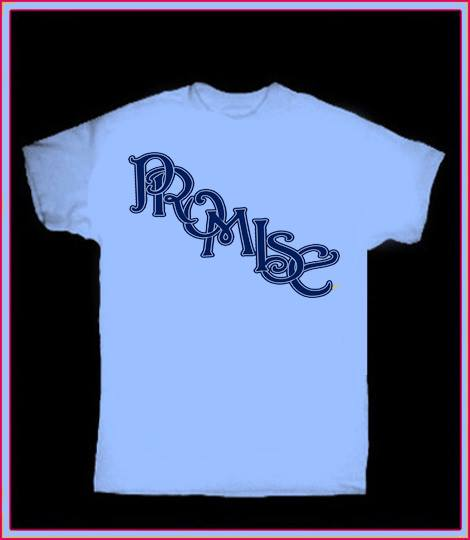 Image of PROMISE Custom T-Shirt (AVAILABLE IN TWO COLORS)