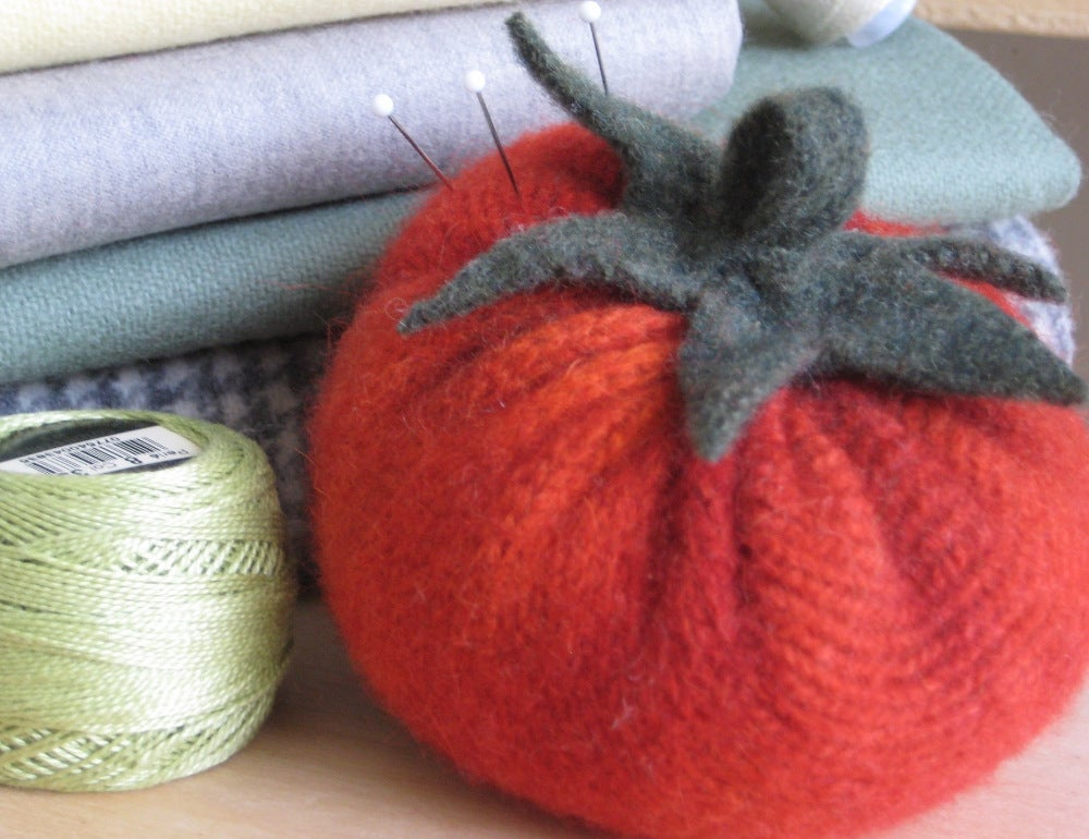 Image of Heirloom Tomato Pincushion