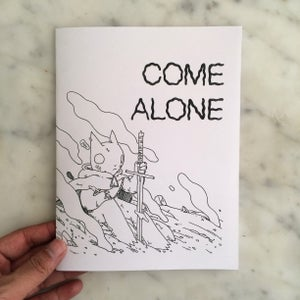 Image of Come Alone Zine