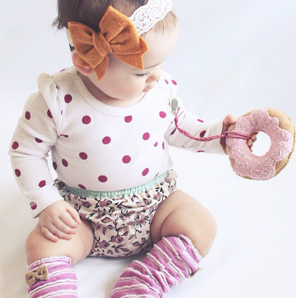 Image of Ruthie Felt Bow Headband