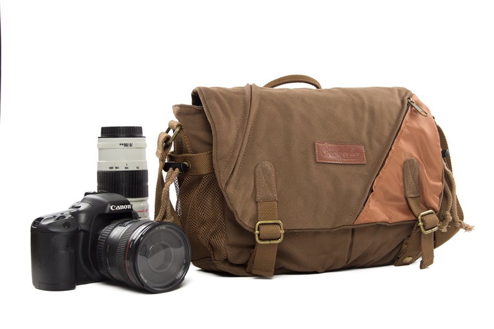 Image Of Coffee Dslr Camera Bags Messenger Bag Slr Professional Bbk
